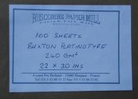 Buxton Label